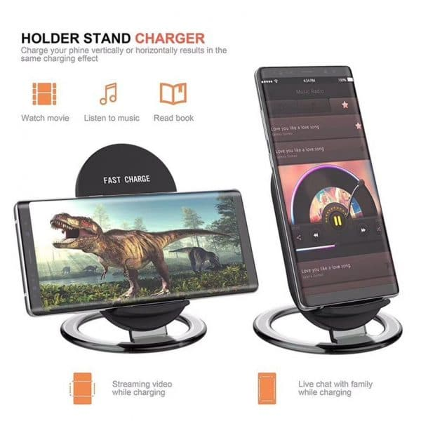 QI phone fast charger