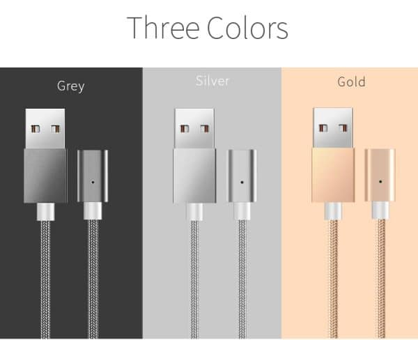 MAhnetic 3 in 1 USB Cables