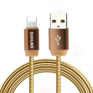 USB Lightning Metal Braided Fast Charging Cable