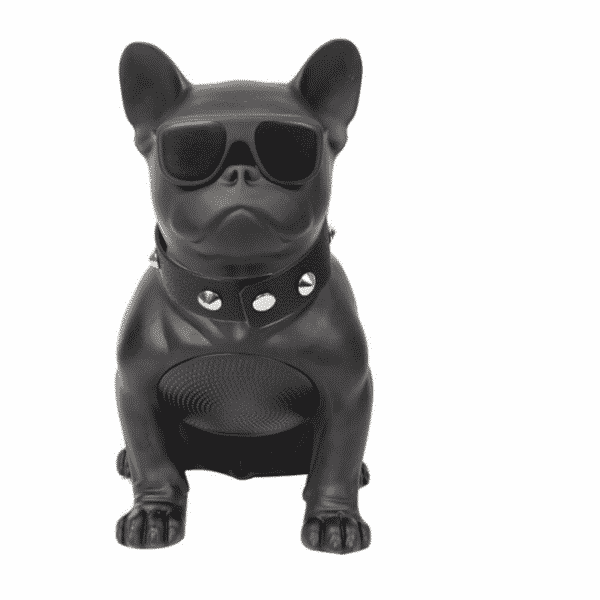 Bulldog style bluetooth wireless speaker