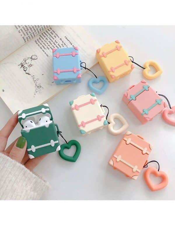 Cute 3D Design Soft 3D Silicone Air pods Cover protection