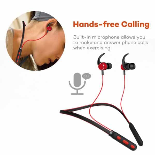 HD Stereo Neckbank Bluetooth Earphone