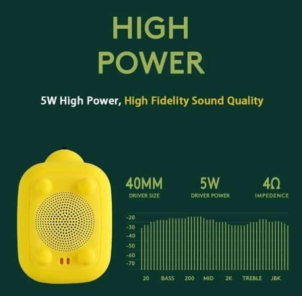 audio pet bluetooth speaker