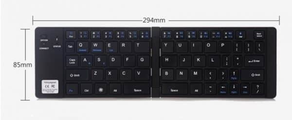 foldable keyboard wireless computer, tablets and smartphone