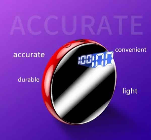 Mini alimentation portable de poche écran digital LED Précis