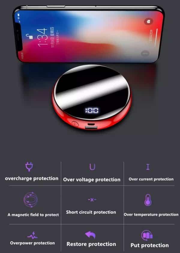 Mini alimentation portable de poche écran digital LED Caractéristiques
