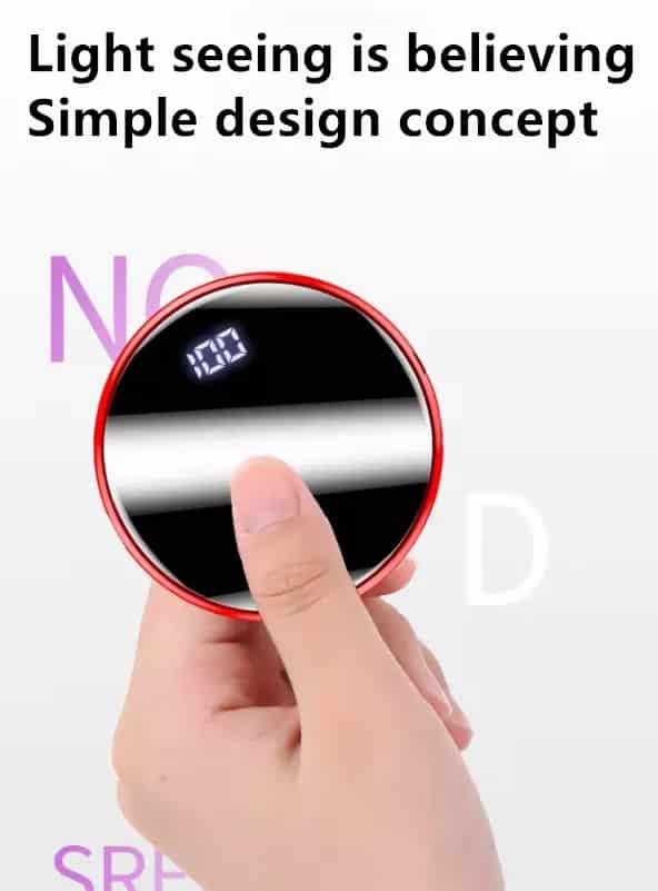 Mini alimentation portable de poche écran digital LED Léger