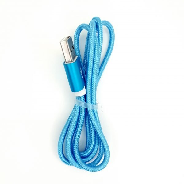 USB Cable - Blue