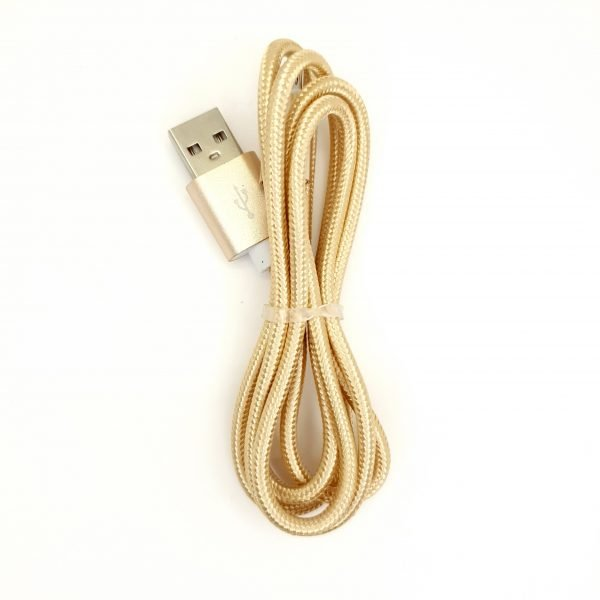 USB Cable - Gold