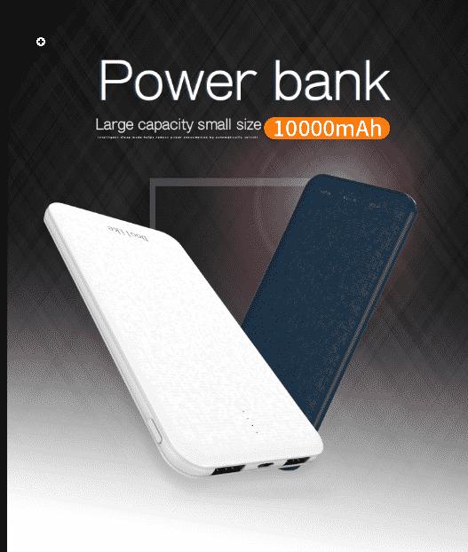 Power Bank, Large capacity small size 10,000mAh