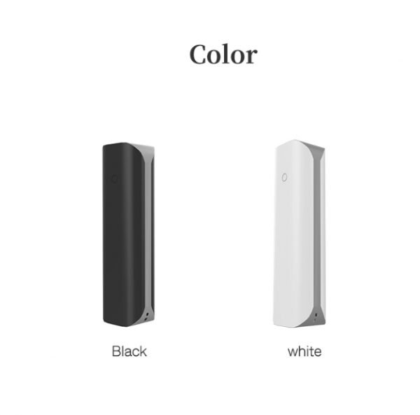 Portable Power Bank elegant black and white colors