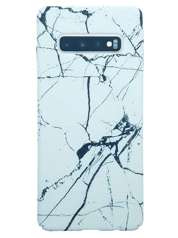 Samsung Phone case White marble