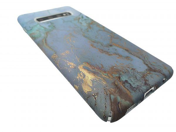 Green marbel Phone case Samsung s10,s20 plus