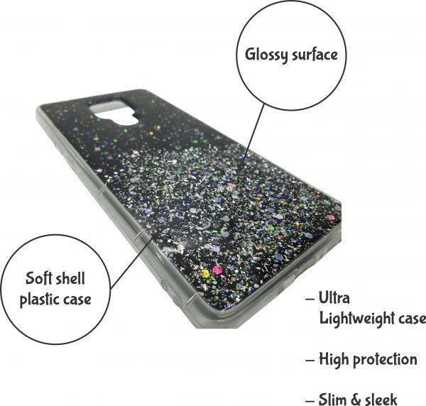 Andoid phone case stardust black