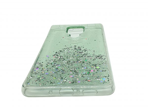 Android mobile phone case stardust green
