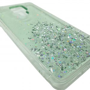 Mobile phone case stardust green