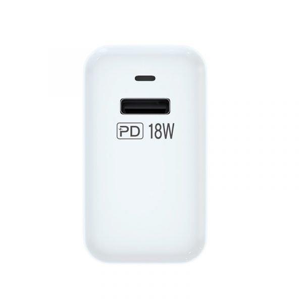 Chargeur rapide PD 18 W entrée