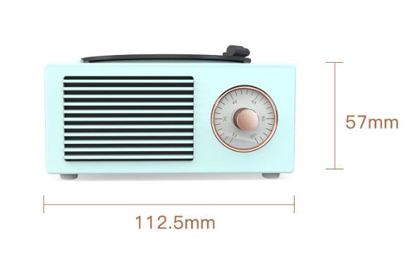 Retro vinyl wireless speaker – 8