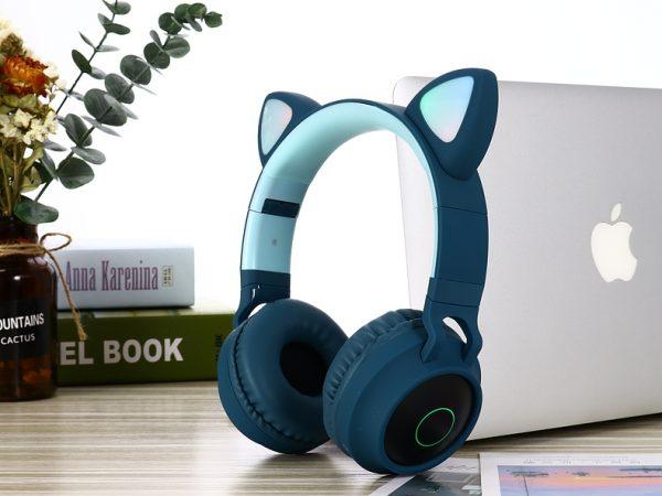 Écouteurs sans fil blue foncé