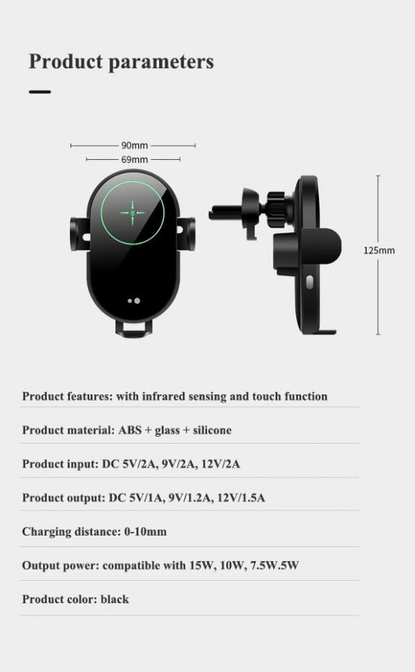 Wireless car charger – 6
