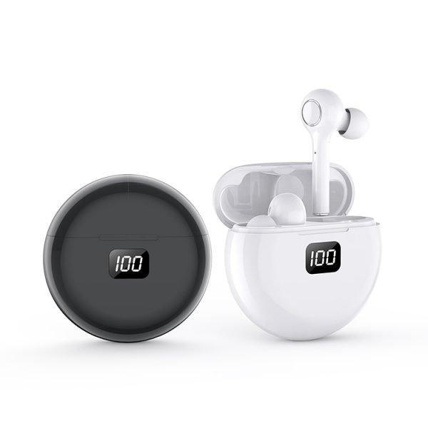 Écouteurs sans fil TW13 Blanc et noir
